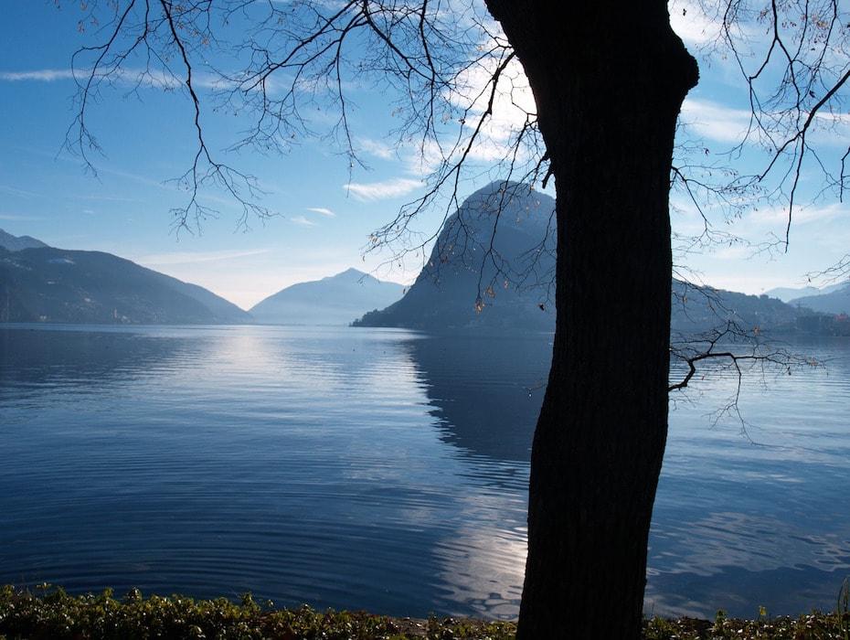 Вилла в Швейцарии, Лугано